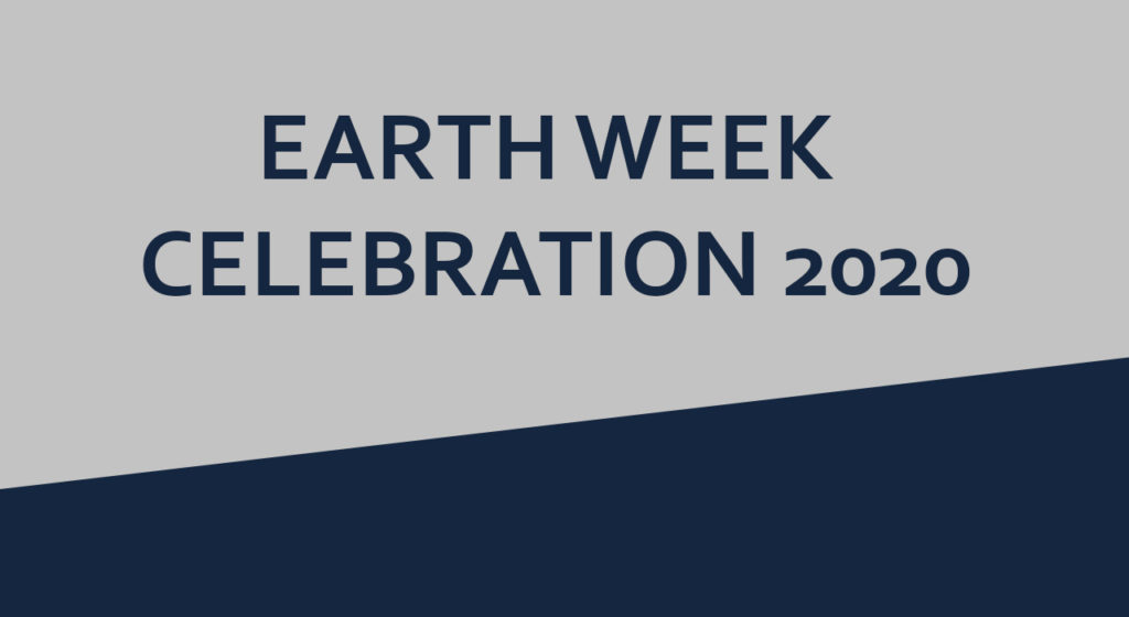 AAYFO Earth Week 2020